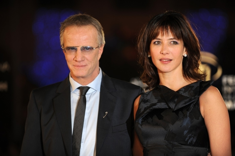 Christopher Lambert's family - ex-wife Sophie Marceau