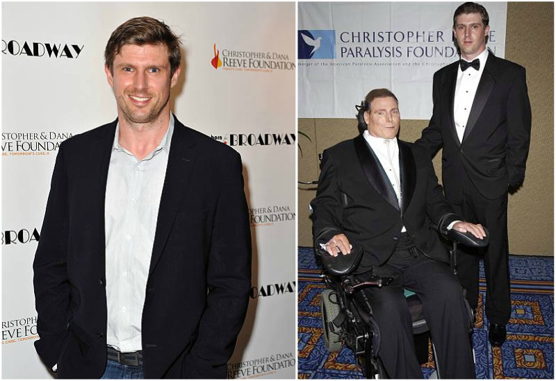Christopher Reeve's children - son Matthew Exton Reeve