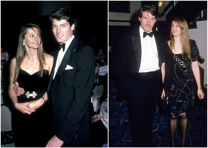Christopher Reeve's family - former partner Gae Exton