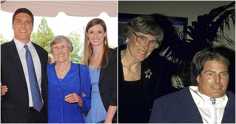 Christopher Reeve's family - mother Barbara Johnson
