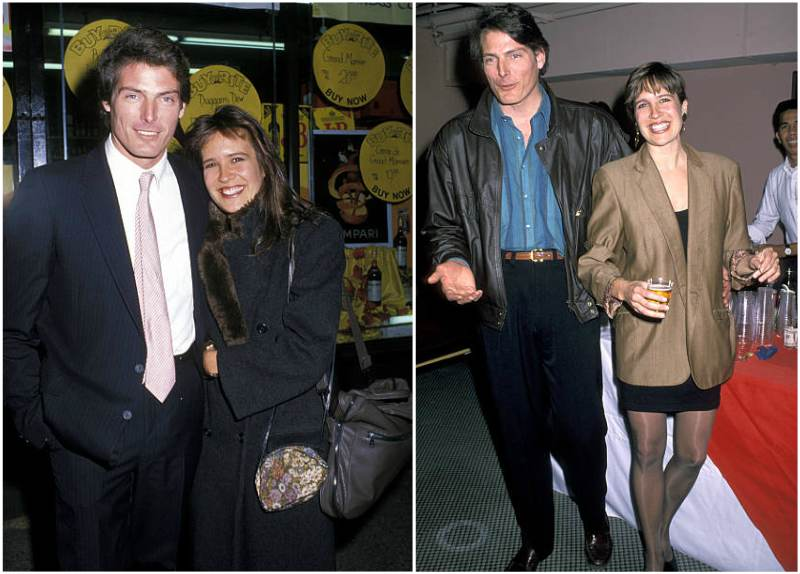Christopher Reeve's family - wife Dana Reeve