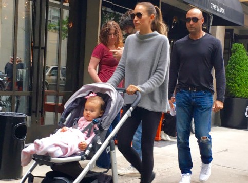 Derek Jeter's children - daughter Bella Raine Jeter