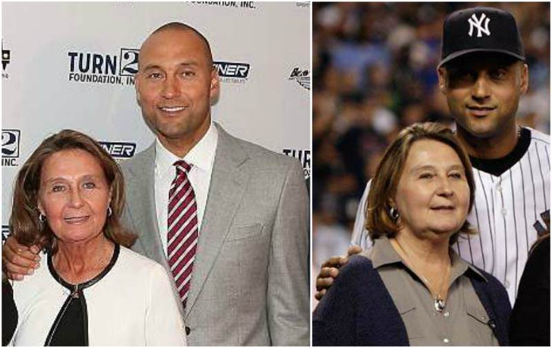 Derek Jeter's family - mother Dorothy Jeter