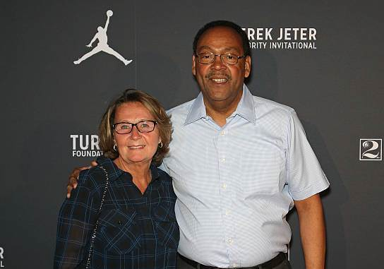 Derek Jeter's family - parents