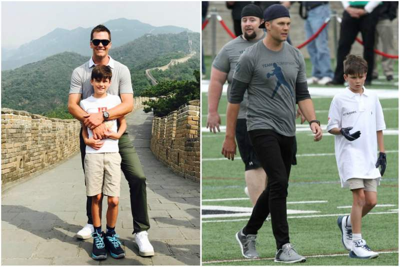 Tom Brady's children - son John Edward Thomas Moynahan