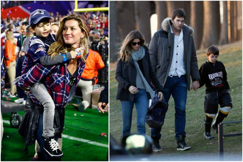 Gisele Bundchen and Tom Brady's children - son Benjamin Brady
