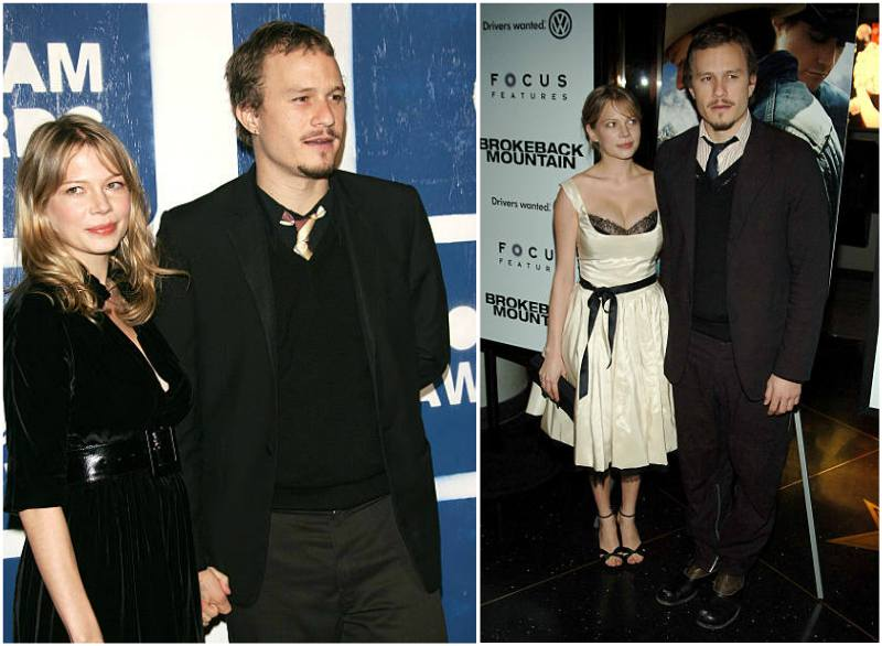 Heath Ledger's family - ex-partner Michelle Williams