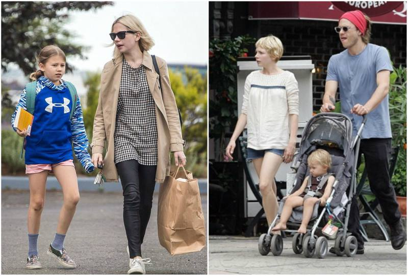 Heath Ledger and Michelle Williams' children - daughter Matilda Ledger