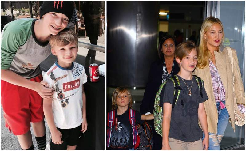 Kate Hudson's children - 2 sons