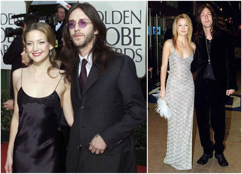 Kate Hudson's family - ex-husband Chris Robinson