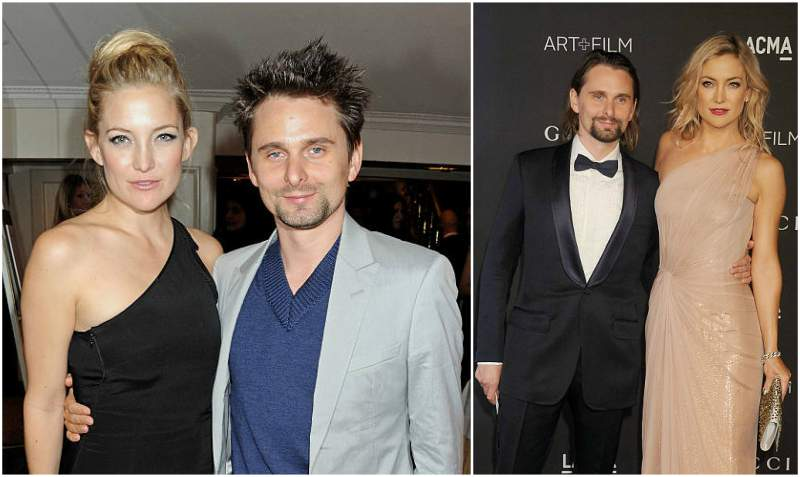 Kate Hudson's family - ex-partner Matthew Bellamy