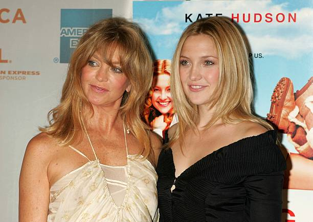 Kate Hudson's family - mother Goldie Hawn