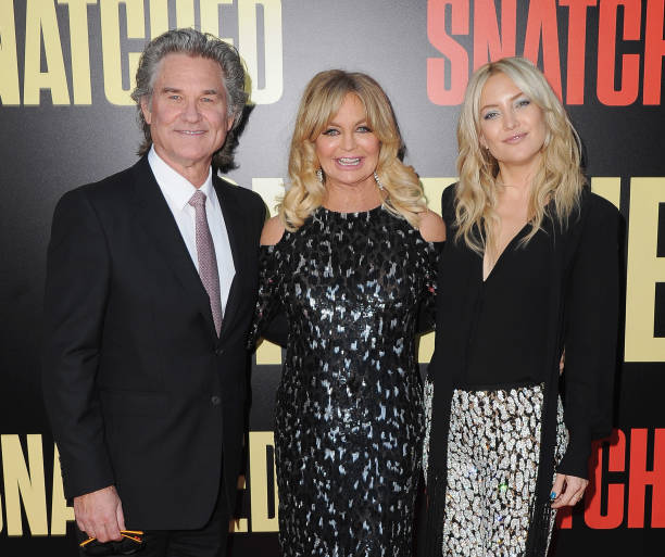 Kate Hudson's family - step-father Kurt Russell and mother