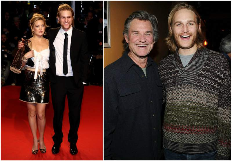 Kate Hudson's siblings - half-brother Wyatt Russell