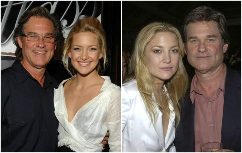 Kate Hudson's family - step-father Kurt Russell