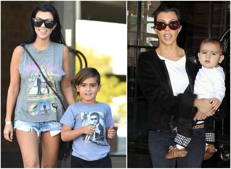 Kourtney Kardashian's children - son Mason Dash Disick