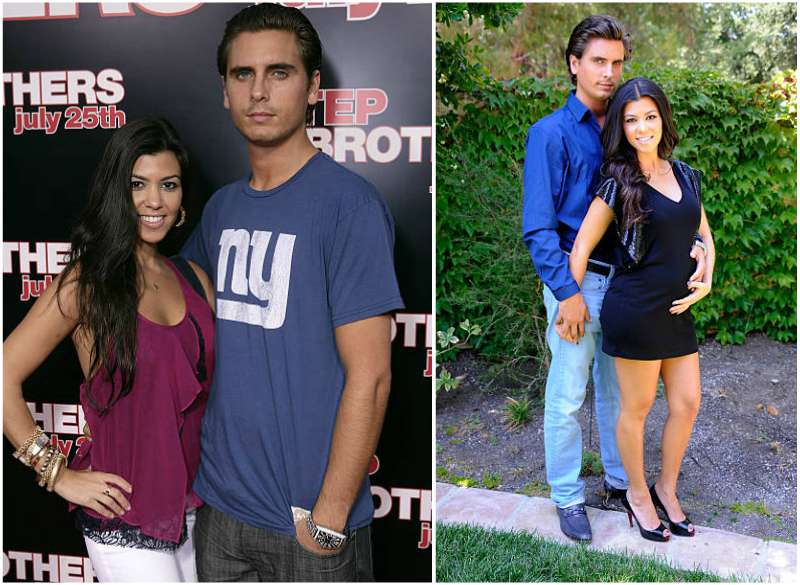 Kourtney Kardashian's family - ex-partner Scott Disick