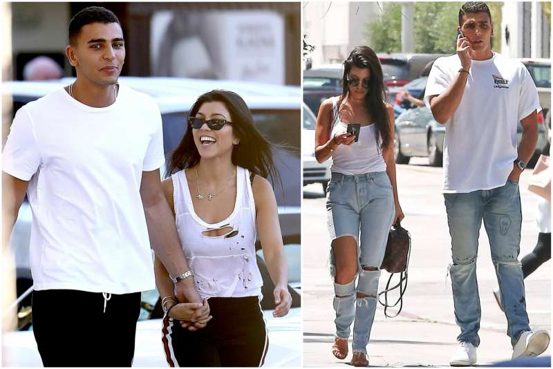 Kourtney Kardashian's family - fiancé Younes Bendjima