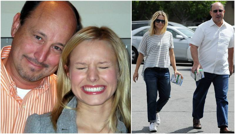 Kristen Bell's family - father Tom Bell