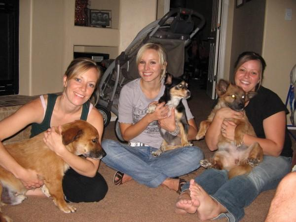 Kristen Bell's siblings - step-sisters