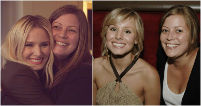 Kristen Bell's siblings - step-sister Sara O'Connor Machiniak