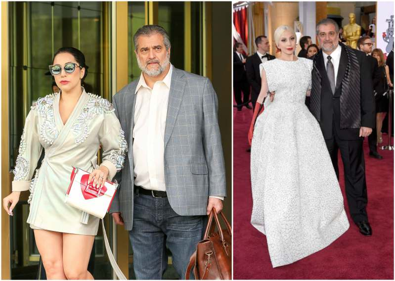 Lady Gaga's family - father Joe Germanotta