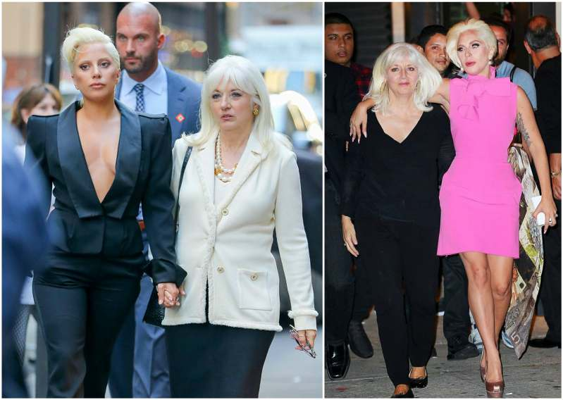 Lady Gaga's family - mother Cynthia Germanotta