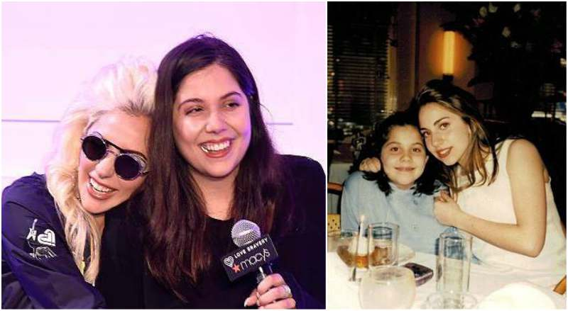 Lady Gaga's siblings - sister Natali Germanotta
