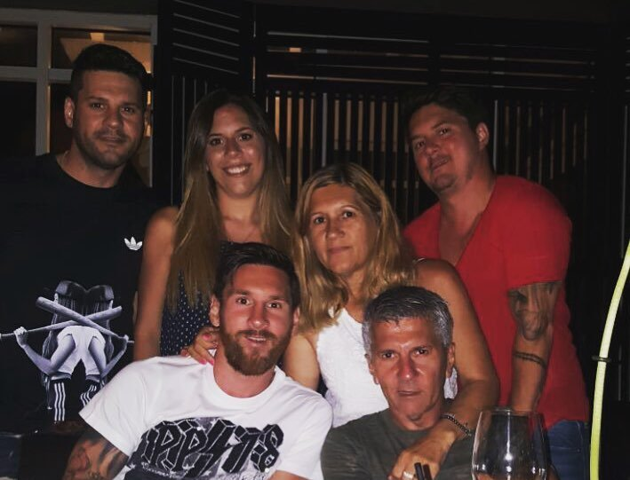 Lionel Messi's family- parents and siblings