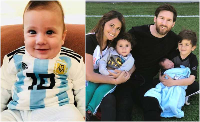 Lionel Messi's children - son Ciro Messi