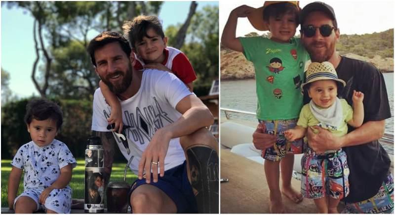 Lionel Messi's children - 2 sons