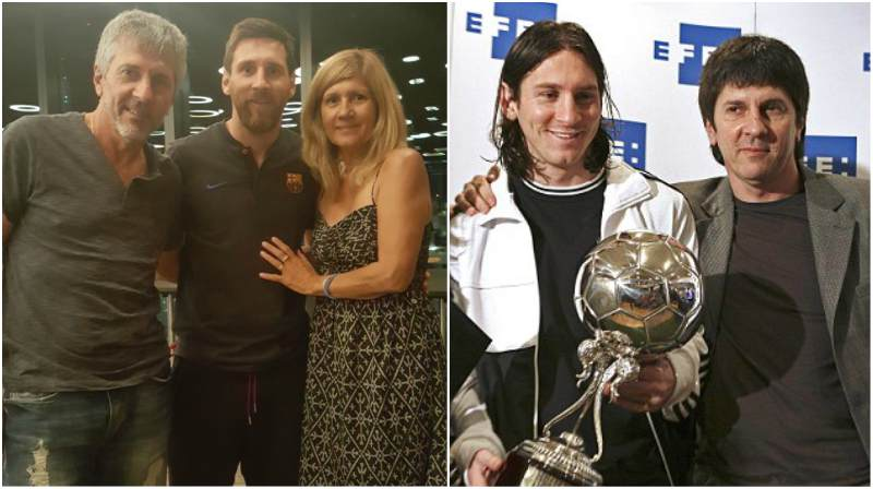 Lionel Messi's family - father Jorge Horacio Messi