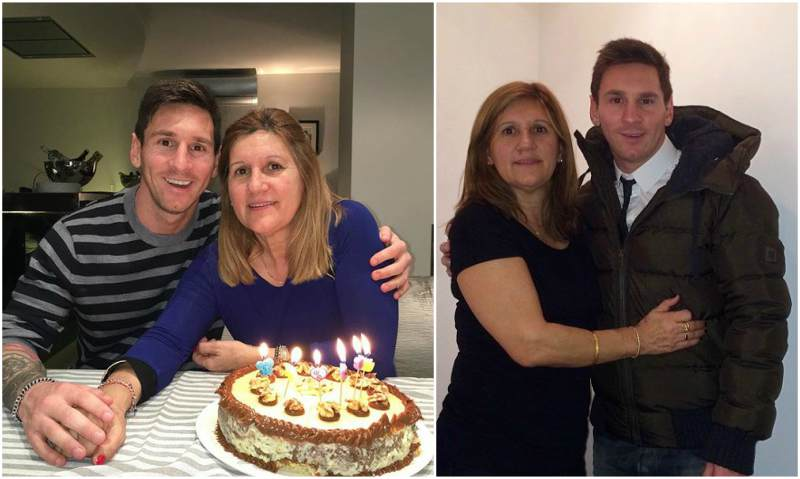 Lionel Messi's family - mother Celia Maria Cuccittini Messi