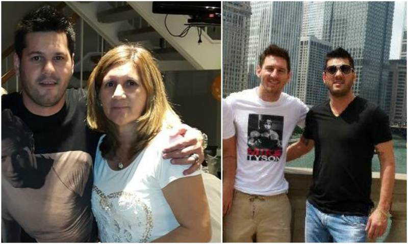 Lionel Messi's siblings - brother Matias Messi