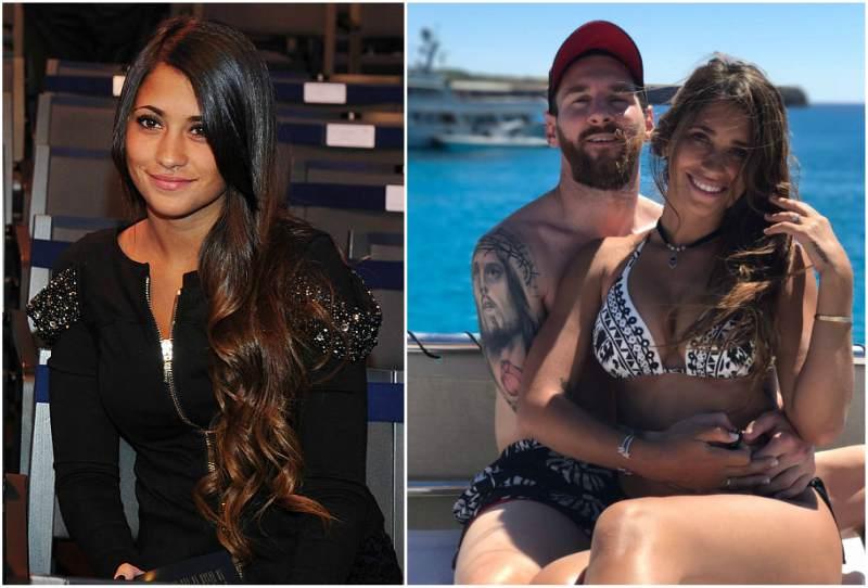 Lionel Messi's family- wife Antonella Roccuzzo