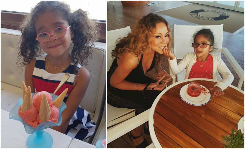 Mariah Carey's children - daughter Monroe Cannon