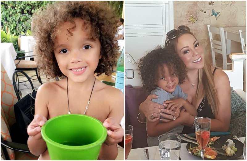 Mariah Carey's children - son Moroccan Scott Cannon