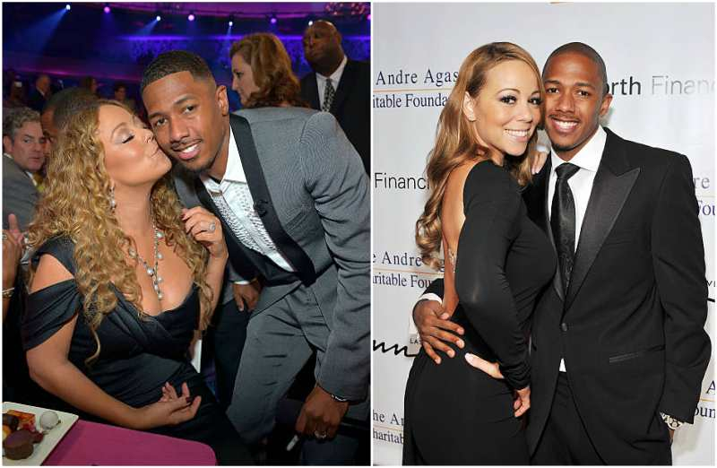 Mariah Carey's family - ex-husband Nick Cannon
