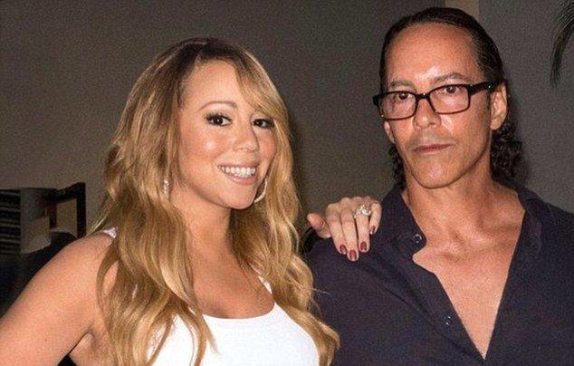 Mariah Carey's siblings - brother Morgan Carey