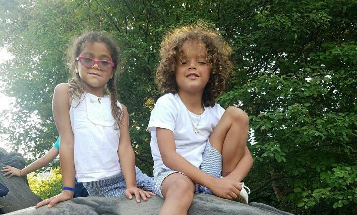 Nick Cannon's children - twins Moroccan Scott and Monroe Cannon