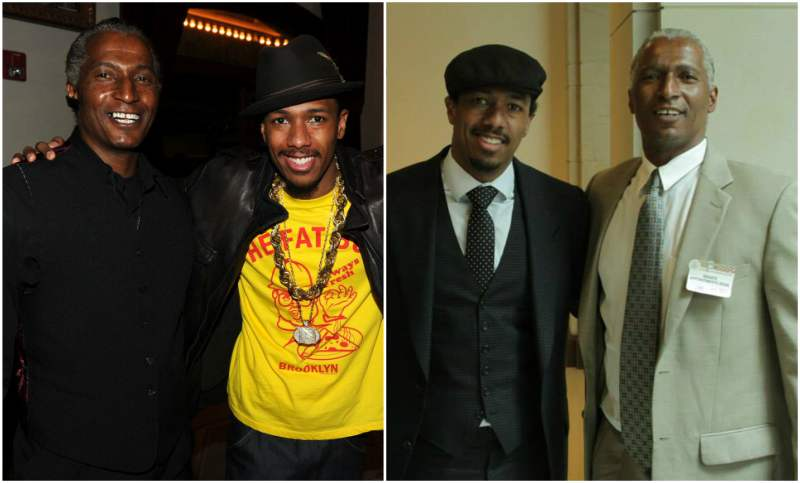 Nick Cannon's family - father James Cannon Jr.
