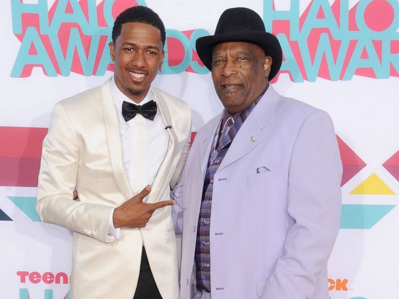 Nick Cannon's family - paternal grandfather James Cannon Sr.