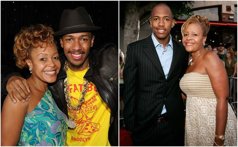 Nick Cannon's family - mother Beth Gardner