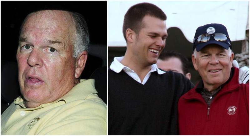 Tom Brady's family - father Tom Brady Sr.