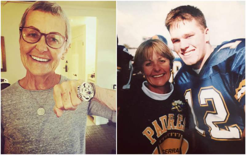 Tom Brady's family - mother Galynn Patricia Brady