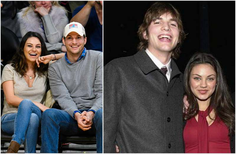 when did ashton kutcher start dating mila kunis Mila kunis and ashton kutcher make a rare, flirty red carpet appearance kunis and kutcher  with their last major appearance dating back to their.