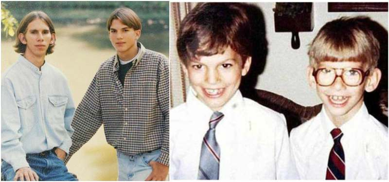 Successful actor Ashto... Ashton Kutcher Brother
