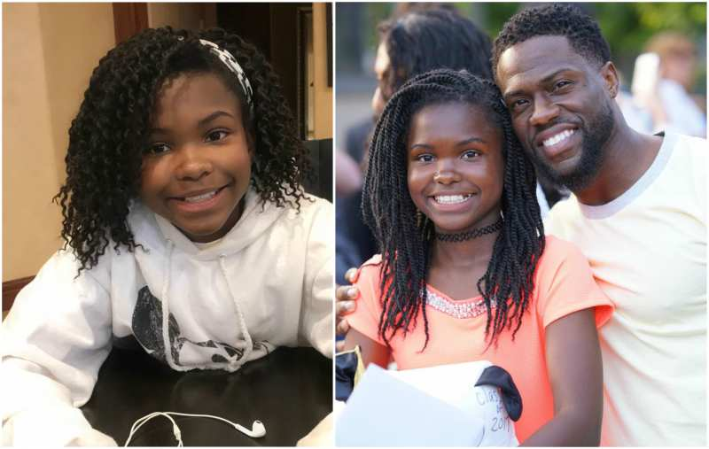 Kevin Hart's children - daughter Heaven Hart