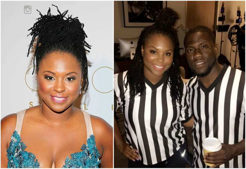 Kevin Hart's family - ex-wife Torrei Hart