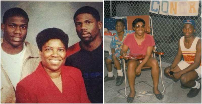 Kevin Hart's family - mother Nancy Hart